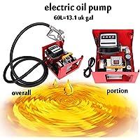 Iglobalbuy 60L (3600 L/ora) 550W elettrico carburante autoadescanti trasferimento pompa Set Bio olio Diesel cherosene