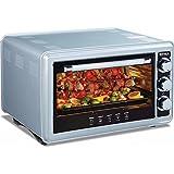 36 Liter Backofen mit Drehspieß 320°C 1500 Watt Miniofen Minibackofen Pizzaofen