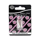 JEM Medium Petal / Ruffle Piping Nozzle no. 104