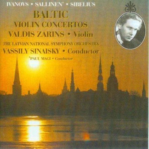 Baltic Violin Concertos by Valdis Zarins (1999-11-04)