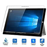 Taslar(TM) Premium Arc Edge Tempered Glass Screen Scratch Guard Protector For Microsoft Surface Pro 4 (Transparent)