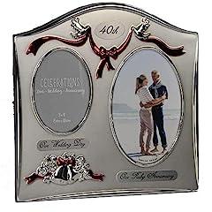 Bomboniere Per Anniversario Di Matrimonio 40 Anni.Anniversario 40 Anni Di Matrimonio Nozze Di Smeraldo Idee Regalo
