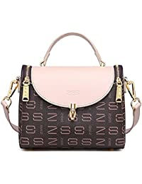 b6b7c9a94a Oruil Fashionable Women Shoulder Bag Metal Lock Cross Body Bag Small Handbag  Women Top Handle Satchel