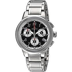 Grovana Unisex 5094-9137 Contemporary Analog Display Swiss Quartz Silver Watch