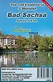Bad Sachsa: Rad- und Wanderkarte mit Stadtplan
