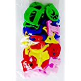 wrapbow Magnetic Alphabets and Numbers for Kids, 26Alphabets 10Numbers 13Extra Alphabet (Multicolour)
