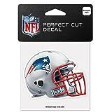Wincraft NFL New England Patriots 95753010Perfekten Schnitt Farbe Aufkleber, 10,2x 10,2cm Helm Edition