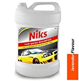 #4: Niks Car Wash Foaming Shampoo - 5 Ltrs. Premium quality With extra Thickness Formula ( lavender Flavor)