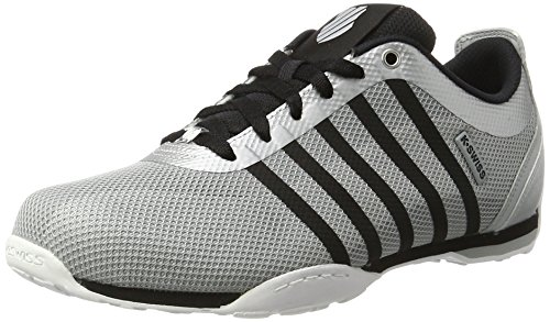 k-swiss-arvee-15-tech-sneakers-basse-uomo-bianco-silver-highrise-black-45-eu