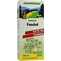 Fenchel Saft Schoenenberger Heilpflanzensäfte 200 ml preisvergleich bei billige-tabletten.eu