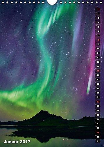 Island - Insel unter dem Nordlicht (Wandkalender 2017 DIN A4 hoch): Von den Papageientauchern bis zum Nordlicht - das schönste an Island in einem Kalender (Monatskalender, 14 Seiten ) (CALVENDO Natur): Alle Infos bei Amazon