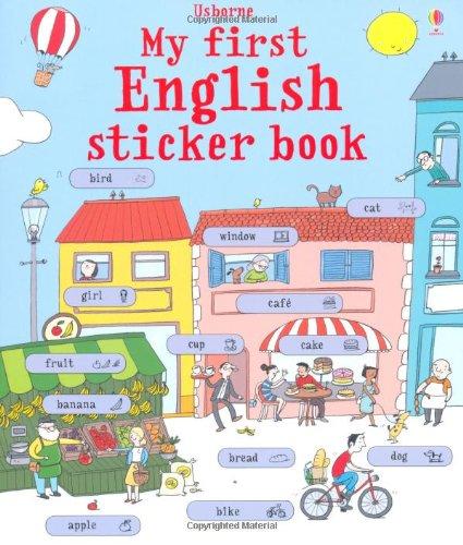 My first english sticker book. Con adesivi. Ediz. illustrata