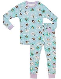 Disney Frozen - Pijama para niñas - Frozen - Ajuste Ceñido