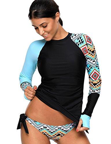 KamiraCoco Protection Anti-UV Femme Maillot de Bain 2...