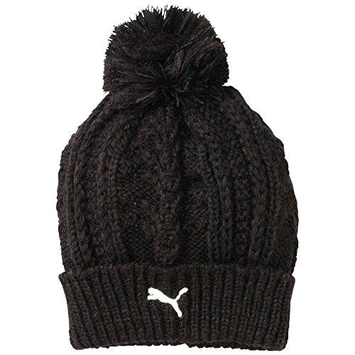 PUMA Mütze Fold Pom Beanie, Black, OSFA, 834024 01