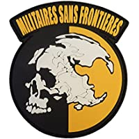 Militaires Sans Frontieres Metal Gear Solid Peace Walker PVC Gomma 3D Velcro Toppa Patch
