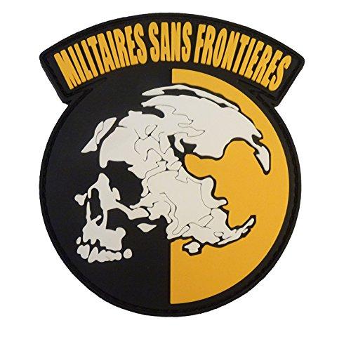 Preisvergleich Produktbild Militaires Sans Frontieres Metal Gear Solid Peace Walker PVC Gummi 3D Fastener Aufnäher Patch