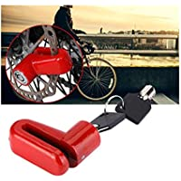 Cisne 2013, S.L. Candado de Disco para Moto de Maxima Seguridad anritobo para Bici,