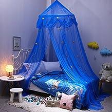 /& 5,91/FT /& 4.92/ft Bett Moskitonetz mit Blau Sterne f/ür Baby Kinder Indoor Outdoor Spielen Lesen geeignet f/ür 3.94/Ft