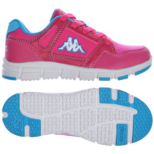 Sneakers - Unerti 3 Garoto Tipo Fuxia-celeste