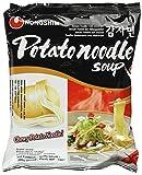 Nong Shim Instantnudeln Potato Noodle Soup – Koreanische China Nudeln mit Kartoffelnudeln - schnelle Zubereitung – 5er Vorteilspack à 100g