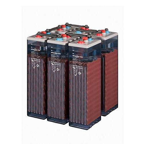 Batterie Solar Photovoltaik Tab 4OPzS 200-300Ah 2V Leben Spezial 20Jahre (6Piece 12V)