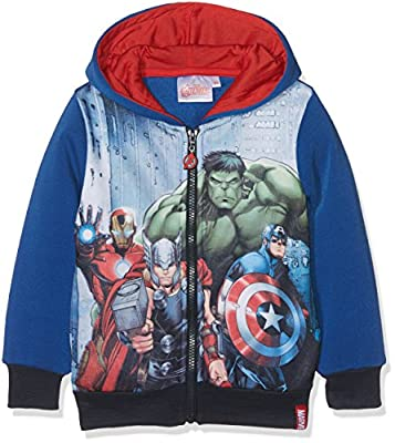 Marvel Boy's Avengers Fighting Squad Hoodie
