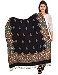 Women's Weaving Quality Woolen Shawl (F0202)