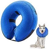 Frifer Hundehalsband, aufblasbar, Schutzkragen, verstellbar, L (Cou: 42-55cm / 16.6-21.6in)