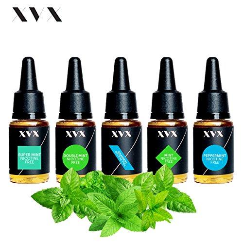 xvx-e-liquid-mint-mix-5-pack-double-mint-mint-peppermint-spearmint-super-mint-electronic-liquid-for-