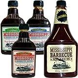 Mississippi Barbecue Grill Saucen 'Testpaket', 3x440ml & 1560ml Original