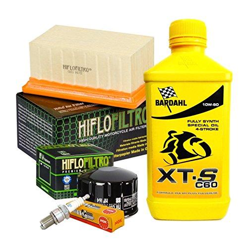 Tagliando Bardahl XTS 10W60 filtro olio aria candele cambio 75W90 R 1200 GS