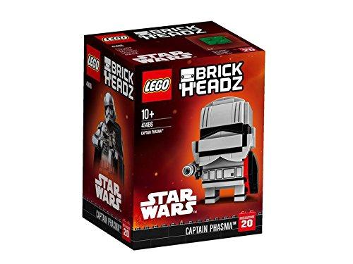 Captain Phasma™ - Führe die First Order mit dem baubaren LEGO® BrickHeadz Charakter Captain Phasma™ an!