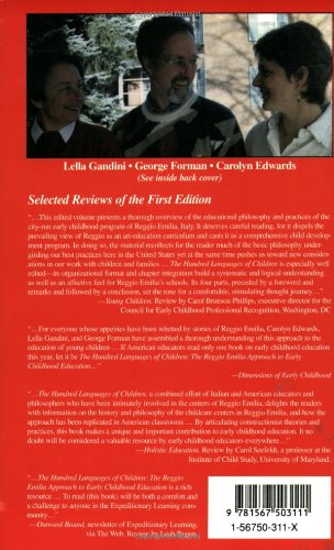 Hundred Languages of Children: Reggio Emilia Approach - Advanced Reflections
