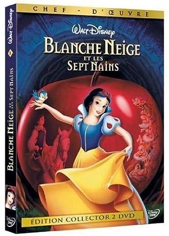 Livre Anime Blanche Neige - Blanche Neige et les sept nains [Édition