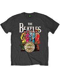 The Beatles Men's SGT Pepper Short Sleeve T-Shirt