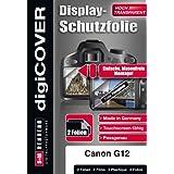 DigiCover B2612 Protection d'écran pour Canon Power Shot G12