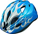 Abus Kinder Fahrradhelm Super Chilly, x-flame blue, 45-50 cm, 55368-4