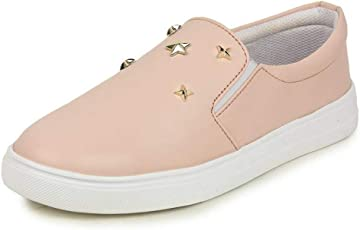 Bersache Pink Loafer & Moccaains Shoe Casual And Party Wear For Women