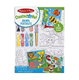 #10: Melissa and Doug Canvas Painting Set - Animals, Multi Color
