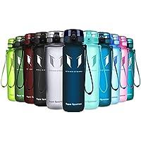 Super Sparrow Trinkflasche - Tritan Wasserflasche - 350ml & 500ml &1000ml - BPA-frei - Ideale Sportflasche - Schnelle Wasserdurchfluss, Flip Top, öffnet Sich mit 1-Click