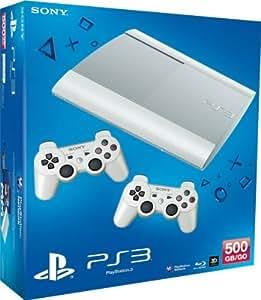 Sony Playstation 3 Super Slim 500GB blanc incl. 2 Controller