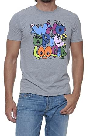Whoopie Loopie Graphic Tee CLARENCE, Color: Grey, Size: L