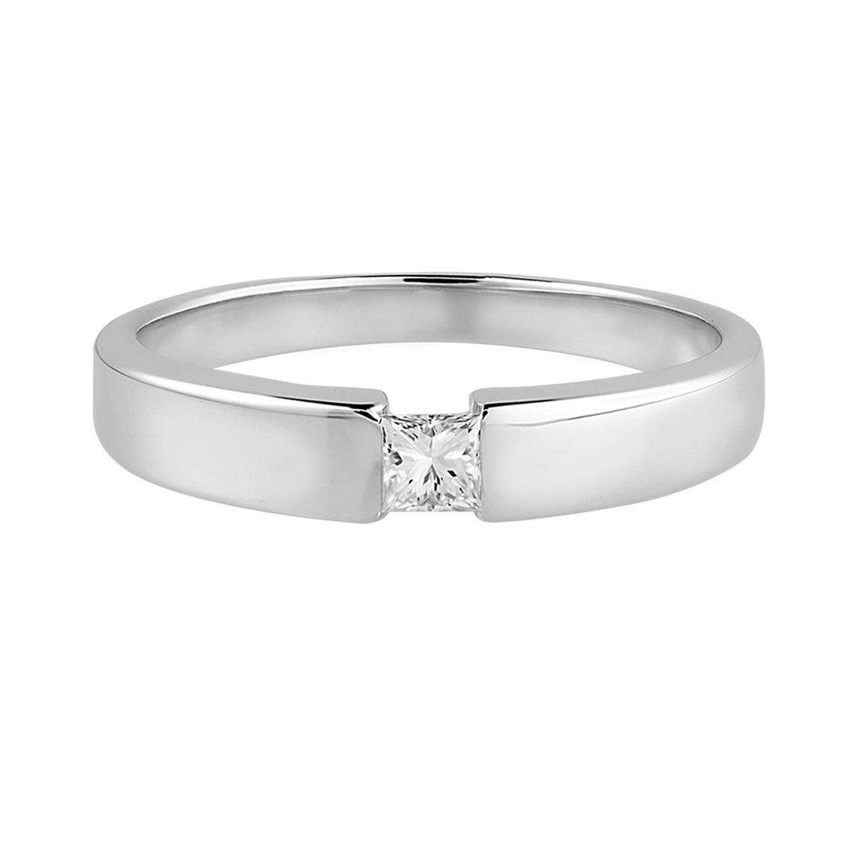 Diamond Line Diamond Line Damen - Ring 585er Gold 1 Diamanten ca. 0,15 ct.