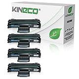 4 Toner kompatibel zu Samsung ML-1640 ML1640 ML-2240 ML-2241, ML-1641, ML-1645 - MLT-D1082S/ELS - Schwarz je 1.500 Seiten