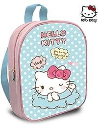 7c9b0f47b8 Kids Hello Kitty Mochila 30x24 Cm Zainetto per bambini, 30 cm, Multicolore  (pastel