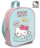 Kids Hello Kitty Mochila 30x24 cm Kinder-Rucksack, 30 cm, Mehrfarbig (Pastel)