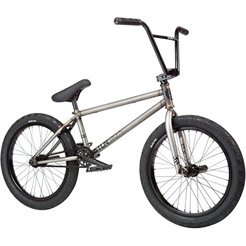 "Stolen Sinner XLT BMX bike 2017 21"" top tube polished Raw"