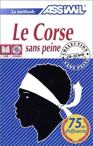 La méthode Assimil : Le Corse sans peine (1 livre + coffret de 4 CD)