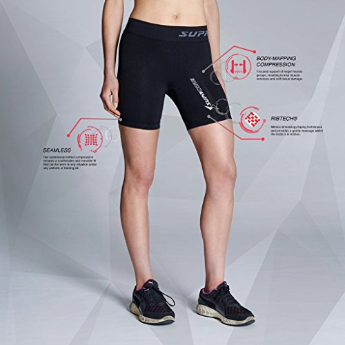 Supacore Women's Training Sackartige Shorts - SS18 Black